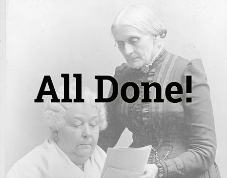 Susan B. Anthony Papers image