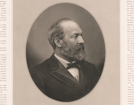 "James A. Garfield Diary: ""His Confidential Friend"" image"