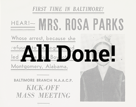Rosa Parks: In Her Own Words image
