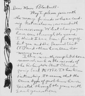 Alice Stone Blackwell: General Correspondence