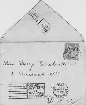 Kitty Barry Blackwell: General Correspondence