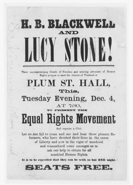 Lucy Stone: Speeches and Writings